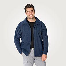 Fleece Jacke für Sie und Ihn mit durchgehendem Reissverschluss