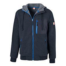 Orix Faserpelz-Jacke mit Kapuze und Kinnschutz
