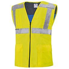 Kühlende und leichte Sicherheitsweste 100% Polyester