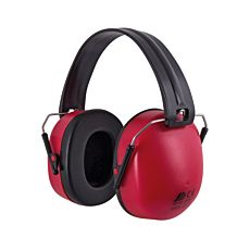Casque de protection anti-bruit compact, rouge