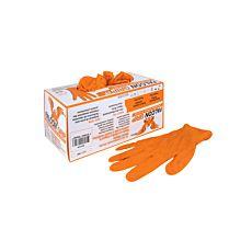 Einweg-Nitril-Handschuhe Falcon Grip, puderfrei, leuchtorange