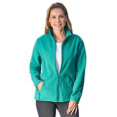Damen Fleece-Jacke mit Reissverschluss