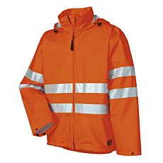 Helly Hansen Sicherheits-Regenjacke mit Kapuze orange