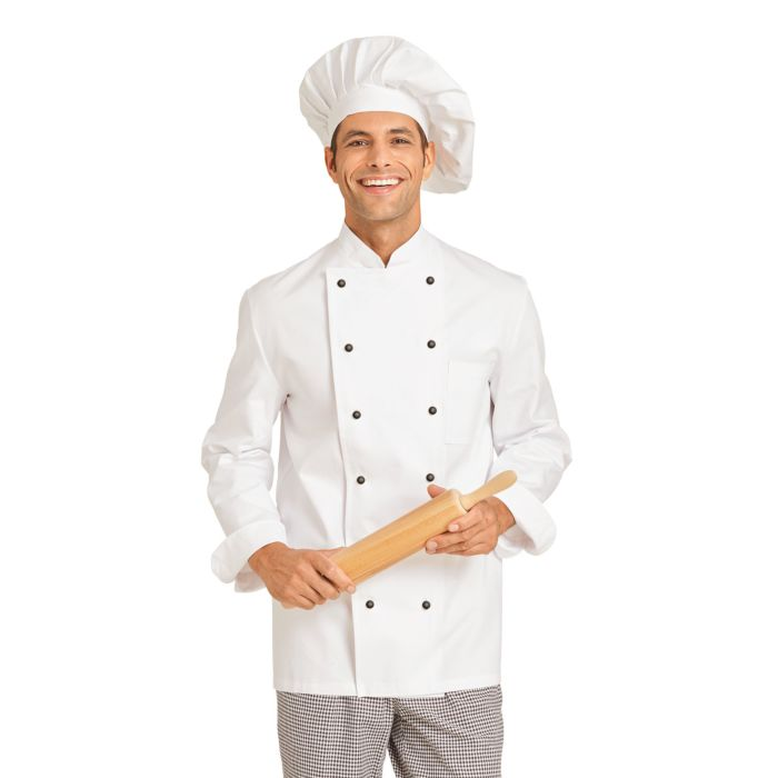 Kochjacken aus 100% Baumwolle