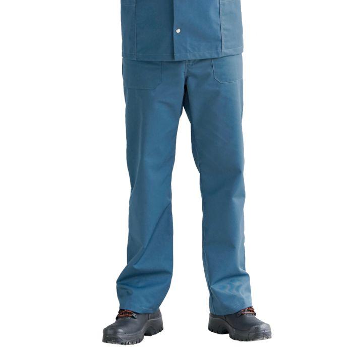 Arbeitshose aus Mischgewebe blau