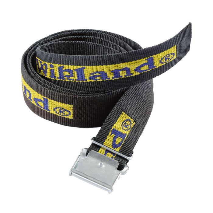 Wikland Polyester-Gürtel schwarz mit Metall-Verschluss