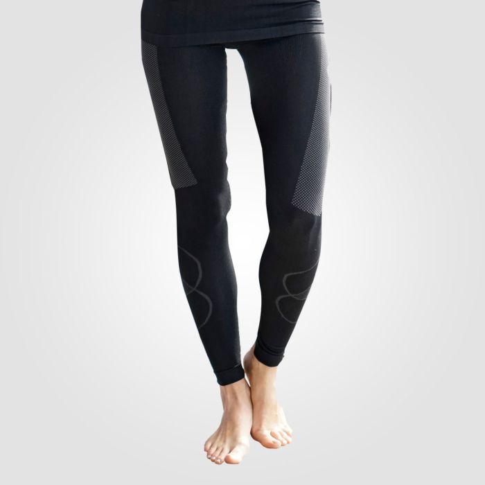 Thermo-Unterhosen lang Damen schwarz