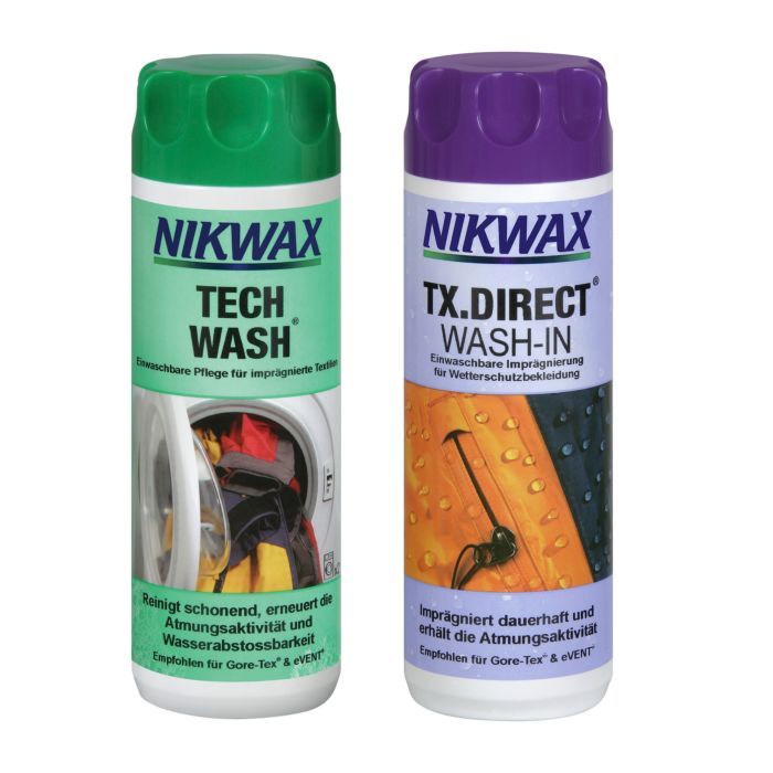 NIKWAX Duo-Pack Tech Wash und TX Direct Wash-In