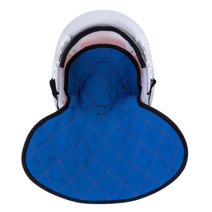 Kühlmütze für Helm mit Klettverschluss orange