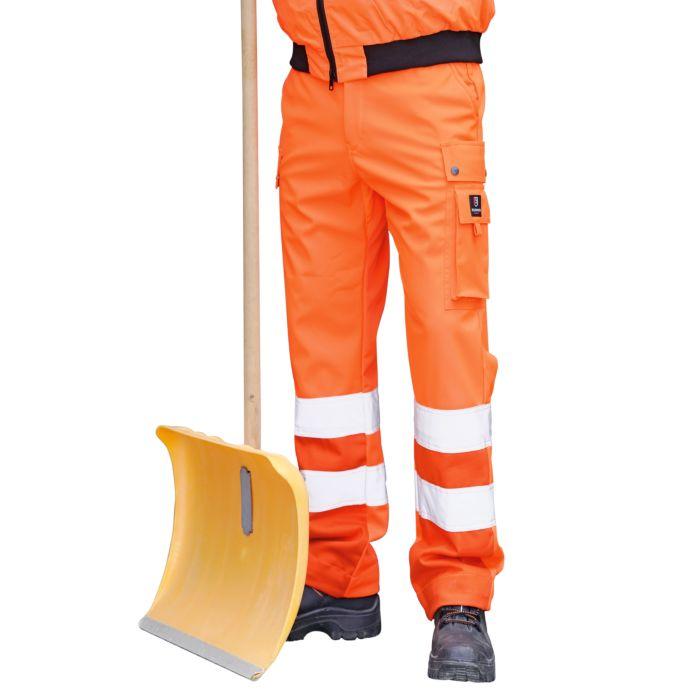 Winter Sicherheits-Arbeitshose mit Taillengummizug