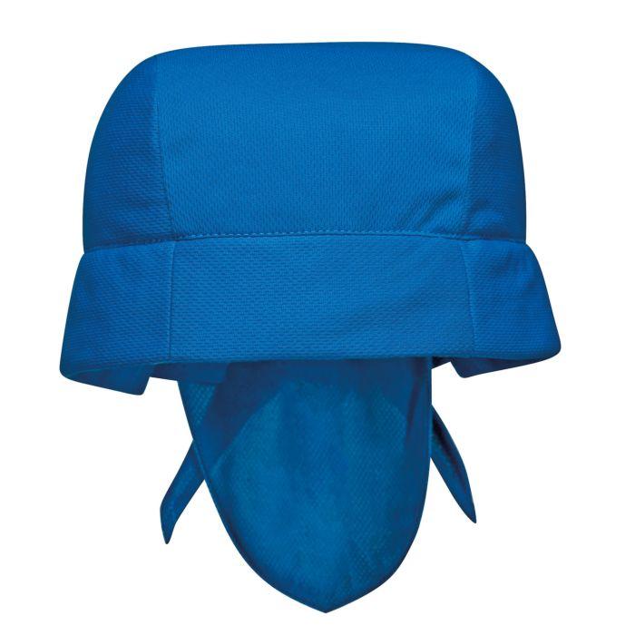 Kühlbandana aus Polyester blau