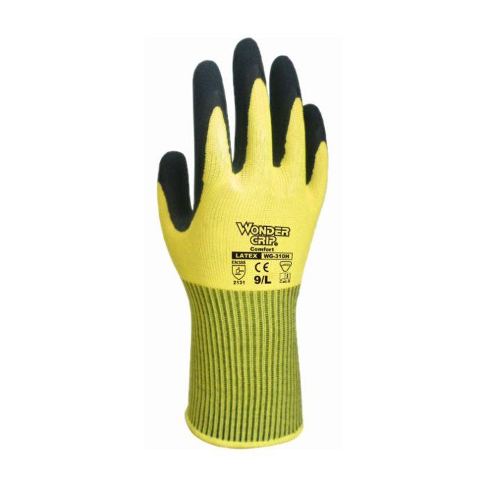 WONDERGRIP Universal Schaumlatex-Handschuh gelb