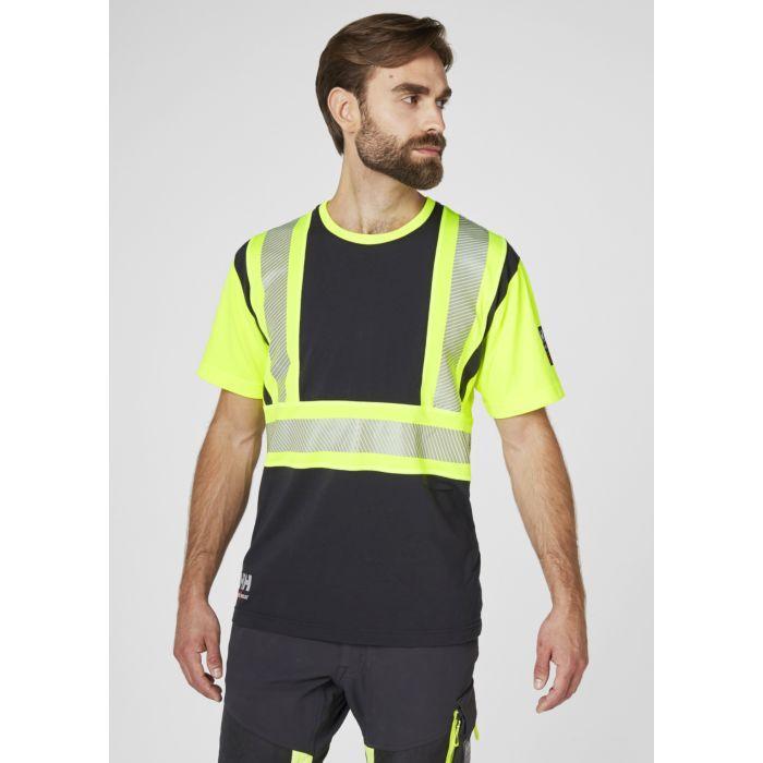 Helly Hansen ICU Sicherheits T-Shirt aus Baumwolle, Polyester und Elasthan