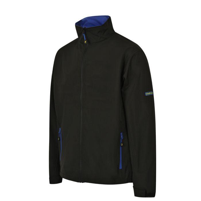Goodyear leichte Softshell-Jacke mit Kinnschutz