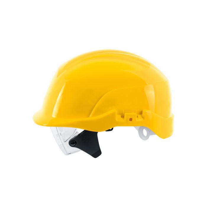 ABS Schutzhelm Spectrum mit integrierter Schutzbrille