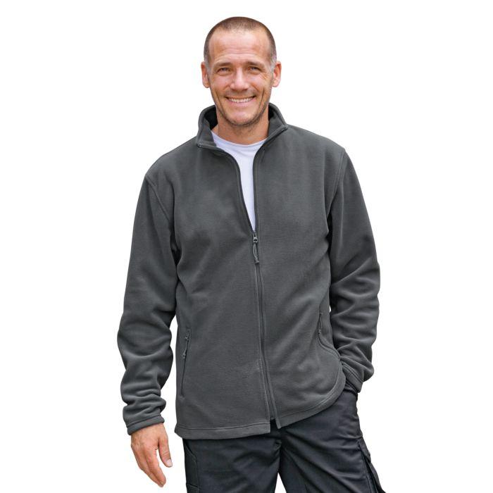 Herren Fleece-Jacke mit 2 Seitentaschen und Antipilling
