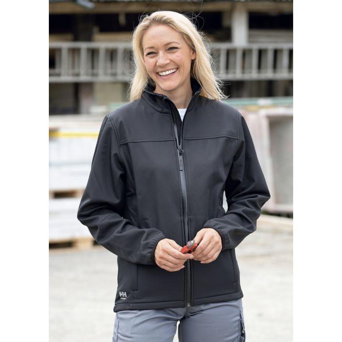 Helly Hansen Softshell-Jacke Unisex mit Reissverschlusstaschen