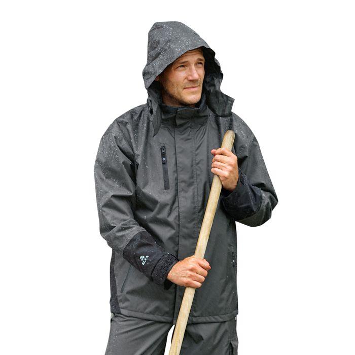 Elka Regenjacke mit Kapuze