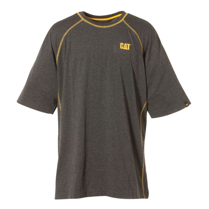 CAT T-Shirt Performance ohne Einnäher am hinteren Kragen