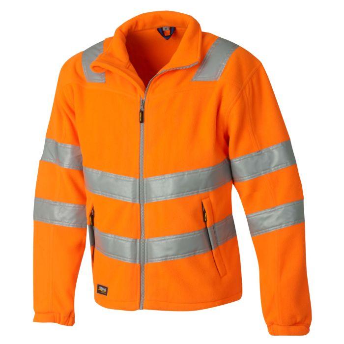 Wikland Sicherheits-Fleece Jacke mit Rückenverlängerung