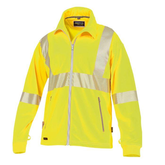 Wikland Sicherheits Sweat-Jacke mit Seitentaschen