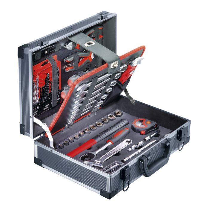 Werkzeugkoffer mit 92 Arbeitsgeräten