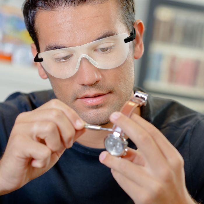 Zoom Magix Vergrösserungsbrille mit Hülle